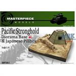Pacific stronghold w/ Pill box diorama base 1:35