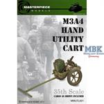 WWII M3A4 Hand Utility Cart 1:35   1:35