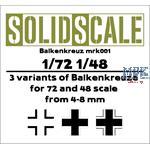 Balkenkreuz 1/48 / 1/72