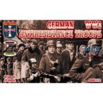 German anti-resistance troops WWII