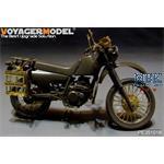 GSDF XLR250 Military Motorcycle (for Tamiya)