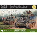LATE WAR BRITISH ARMOURED DIVISION / 15mm