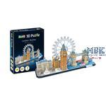 3D Puzzle: London Skyline