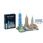 3D Puzzle: New York Skyline