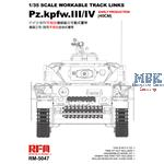 Panzer III / IV early prod.  workable tracks 40cm