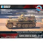 SdKfz 250/251 Expansion Set - SdKfz 250/3 & 251/3