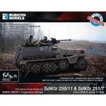SdKfz 250/251 Expansion Set - SdKfz 250/11 & 251/7