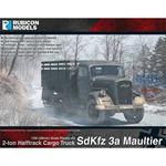 SdKfz 3a Maultier 2 ton Half-Track Cargo Truck