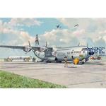 Douglas C-133A w/ PGM-17 Thor IRBM 1:144