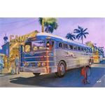 "GMC PD3701 Silverside Bus ""Greyhound Lines"""