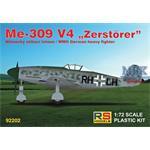"""Messerschmitt Me-309V-4 """"Zerstörer"""""""