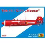 """Yakovlev Yak-11 / C-11 """"Moose"""""""