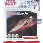 "Star Wars Jedi Starfighter \""easykit pocket\"" LIMI"