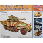 10,5cm leFH18/40/1 auf 3t Zugkraftwagen Sd.Kfz.11