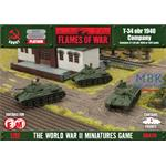 Flames Of War: T-34 obr 1940 Company