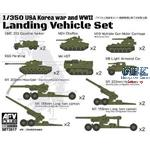 Landing Vehicle Set 2 (Korea War & WW2)