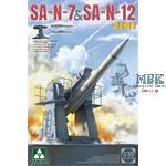 Russian  SA-N-7 'Gadlfy' & SA-N-12 'Grizzly' SAM