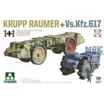 2 kits Combo KRUPP RÄUMER+ Vs.Kfz.617
