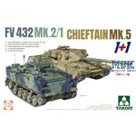 2 kits Combo FV432 Mk.2/1 and Chieftain Mk. 5