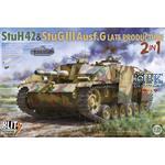 StuH42 & StuG III Ausf.G Late Prodution 2 in 1