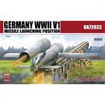 V1 Missile with ramp