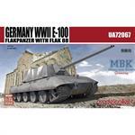 E-100 Flakpanzer with Flak 88