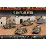 Flames Of War: M3 Lee Tank Platoon
