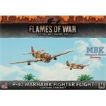 Flames Of War: P-40 Warhawk Fighter Flight