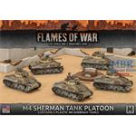 Flames Of War: M4A1 Sherman Tank Platoon