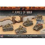 Flames Of War: M3 Stuart Light Tank Platoon