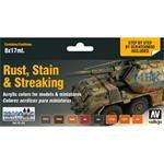 Staining, Rust & Streaking Color Set