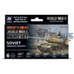 Model Color: WWII Paint Set Soviet Armour & Inf.