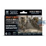Model Color: WWII German Infantry