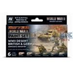 Model Color: WWII Desert Armour & Infantry (D+GB)