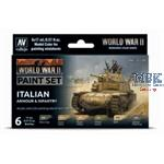 Model Color: WWII Italian Armour & Infantry