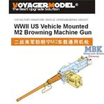US vehicle mounted M2 Browning MG