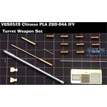 PLA ZBD-04A IFV Turret Weapon Set (Panda 35042)