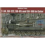 T-34, SU-122, SU-85 and SU-100 in Color