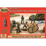 German leFH 18 105 Howitzer & crew