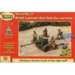 British 6 pounder Anti-Tank Gun & Crew