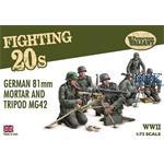 German 81mm Mortar and Tripod MG42