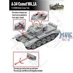 British A-34 Comet MK.1A Cruiser Tank