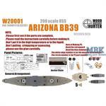 Battleship USS Arizona BB39 (For Trumpeter 03701)