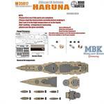 WWII IJN Battleship Haruna