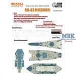 WWII Missouri Battleship(for Trumpeter 80604)