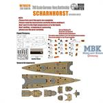 WWII German  Battlecruiser Scharnhorst