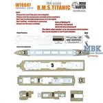 R.M.S TITANIC(for revell05210)