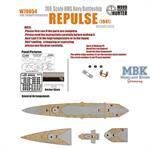 WWII Battlecruiser HMS Repulse