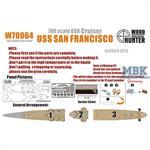 WWII Heavy Cruiser USS San Francisco