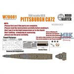 WWII USS Pittsburgh CA72 (for Trumpeter 05726)